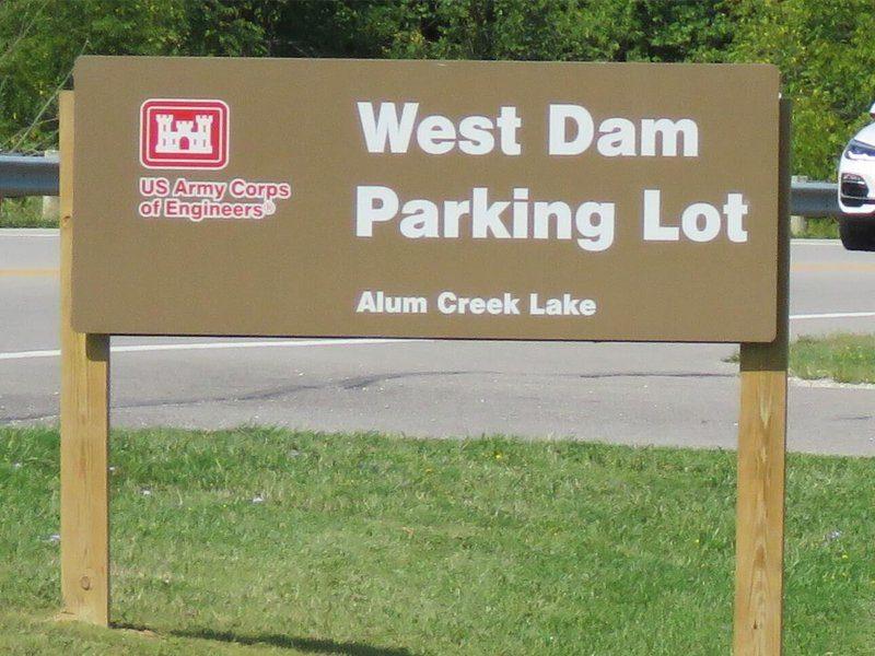 West Dam Parking Lot